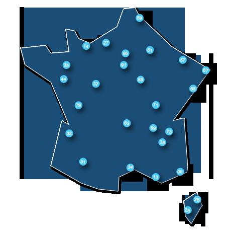 Agences Portalp en France