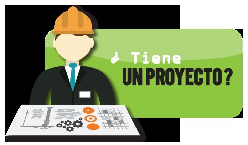 ¿Tiene un proyecto?