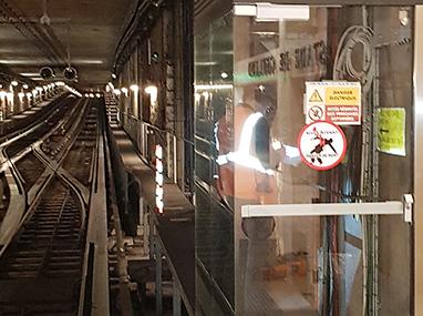 Porte d'accès tunnel