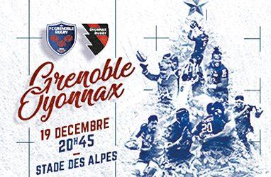 Portalp : FC Grenoble Rugby – Oyonnax