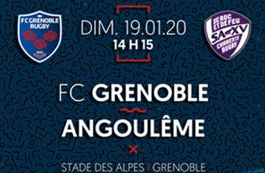 Portalp : FCG – Angoulême