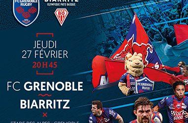 Portalp : FCG – Biarritz Olympique
