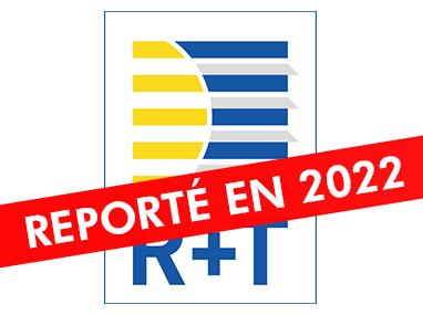 Salon R+T reporté à 2022