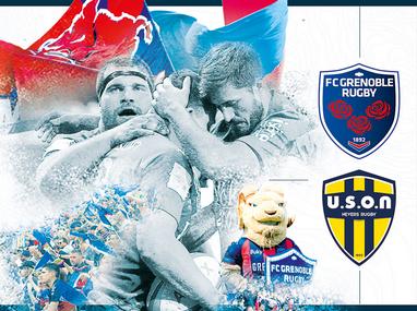 Portalp fait sa rentrée avec le FC Grenoble Rugby !