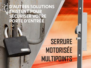 Serrure motorisée multipoints RS