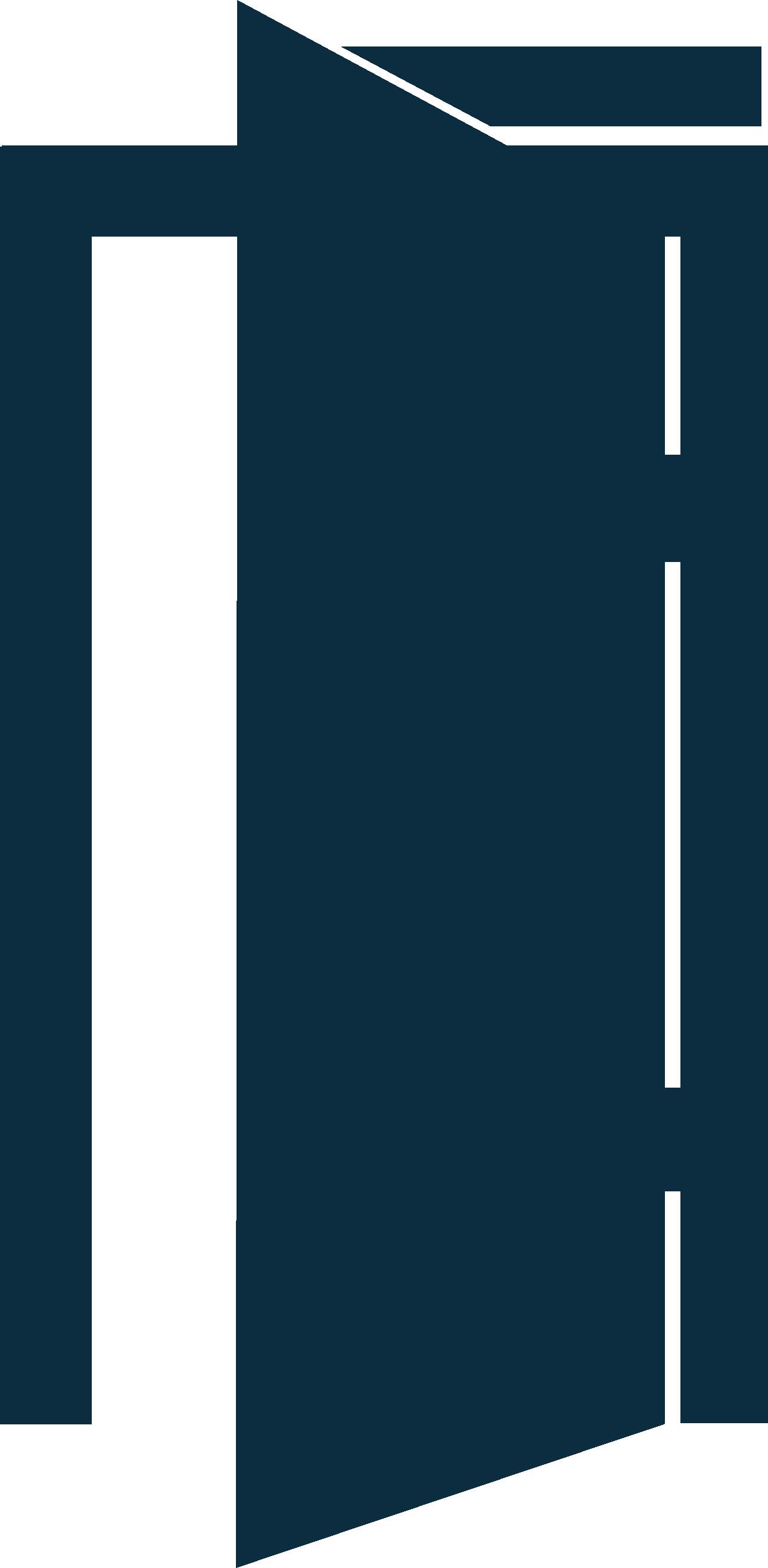 Porte battante automatique à ouverture sans contact